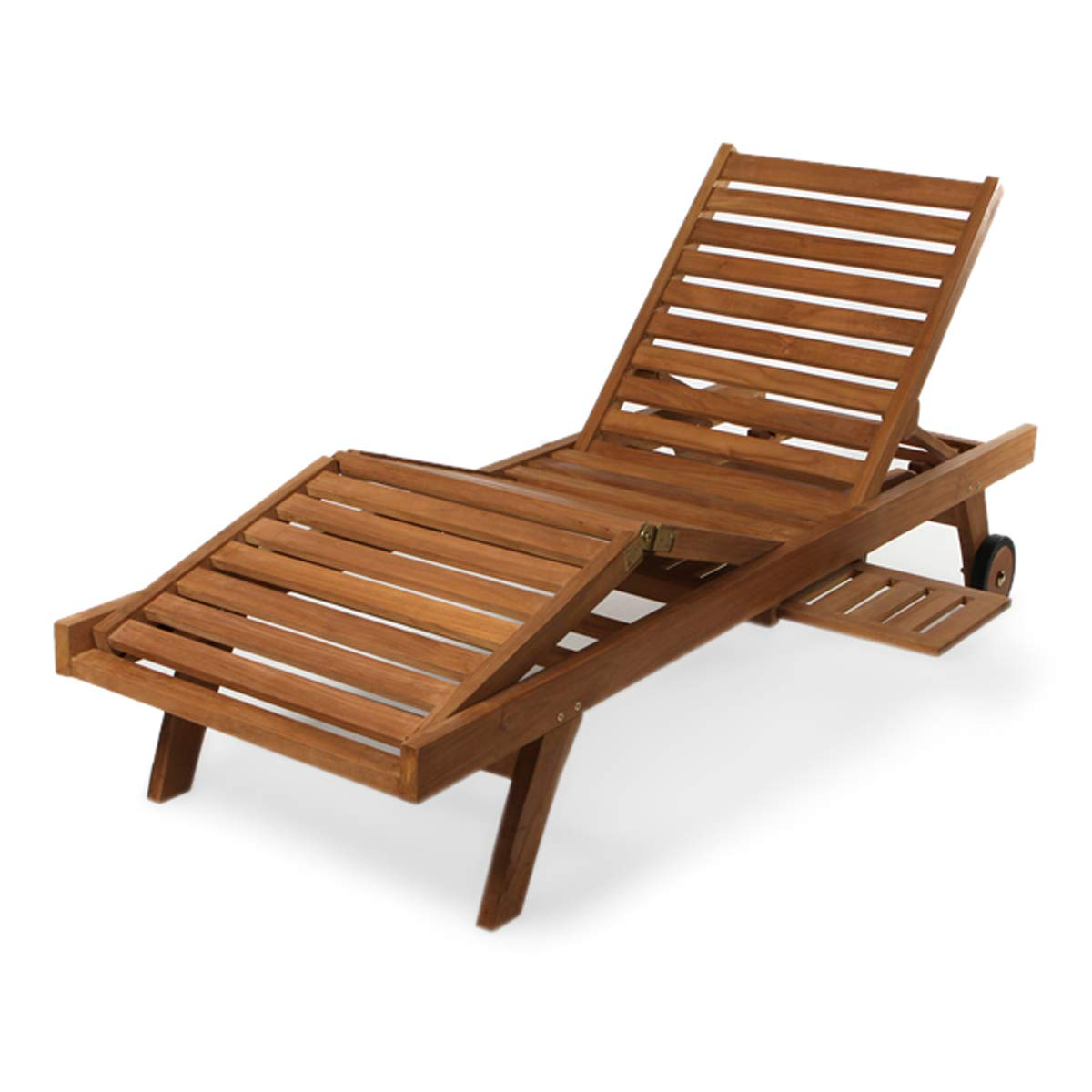 All Things Cedar Teak Chaise Lounge