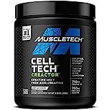 Creatine Powder | MuscleTech Cell-Tech Creactor Creatine HCl Powder | Post Workout Muscle Builder for Men & Women | Creatine