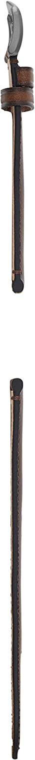 Fossil Leather and Stainless Steel Interchangeable Watch Band Strap Brown/Smoke