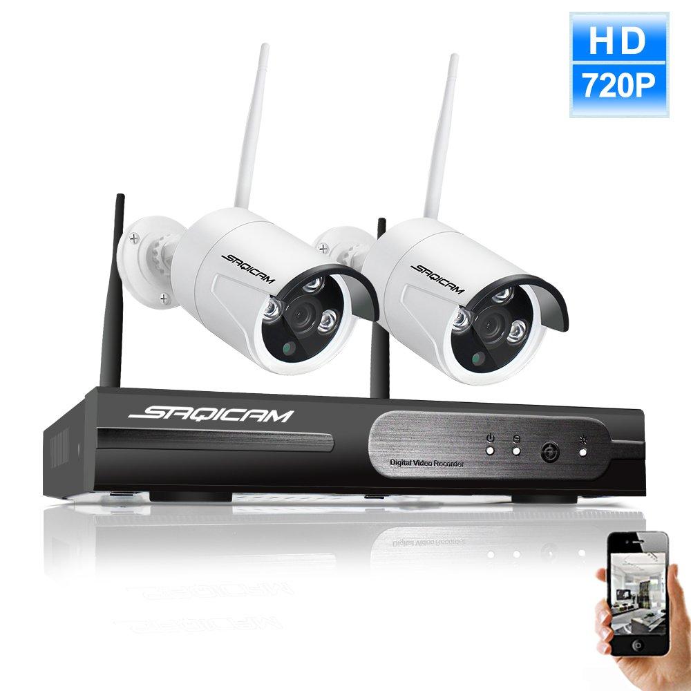 高速配送 SAQICAM 1080P 720P Hd Nvrワイヤレス屋外のIpカメラシステムWifi 2作品 Hd 720P Hd Hd Cctv屋外のIpカメラ100Ftナイトビジョン、オートペア、容易なリモートビュー B07CNWKW5P, ゴルフショップ ゼロステーション:d8dd866b --- martinemoeykens-com.access.secure-ssl-servers.info