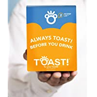 Toast! Before You Drink BlackBerry Gummies (16 Servings) - Morning After Alcohol Recovery - Liver Aid & Detox - Milk…