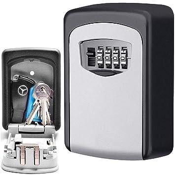 Caja de seguridad para llaves de CDC® con contraseña, montaje en ...