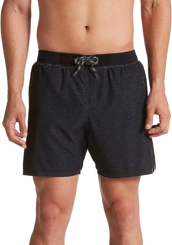 Nike Linen Blade Volley - Pantalones Cortos para Hombre (5 Pulgadas)