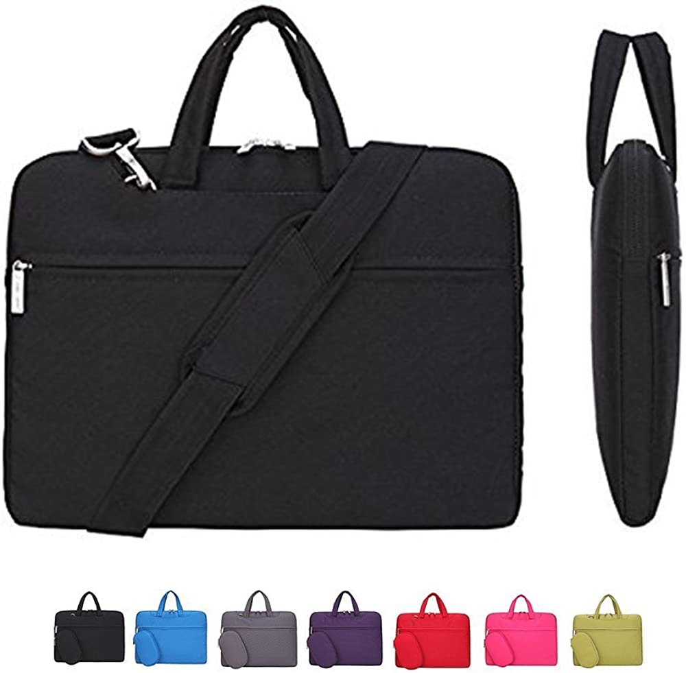 KUSDET Laptop Case Sleeve 11.6 13 14 15.6 Inch with Shoulder Strap Computer Bag