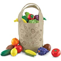 Learning Resources Fresh Picked Fruit and Veggie Tote - LER9722