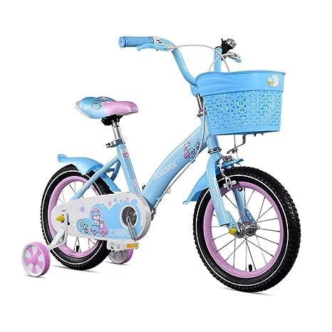 DT Bicicleta para niños 2-3-6-8 años Niña Carro de bebé