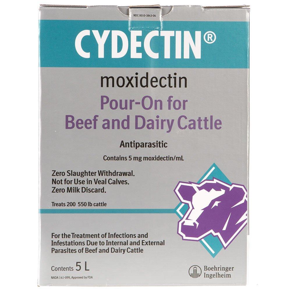 DavesPestDefense Cydectin Pour On Dewormer 5 Liter by DavesPestDefense