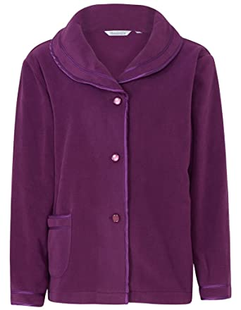 31d3c52a9c Slenderella BJ6320 Women s Purple Dressing Gown Bedjacket Robe BJ6320 Sml
