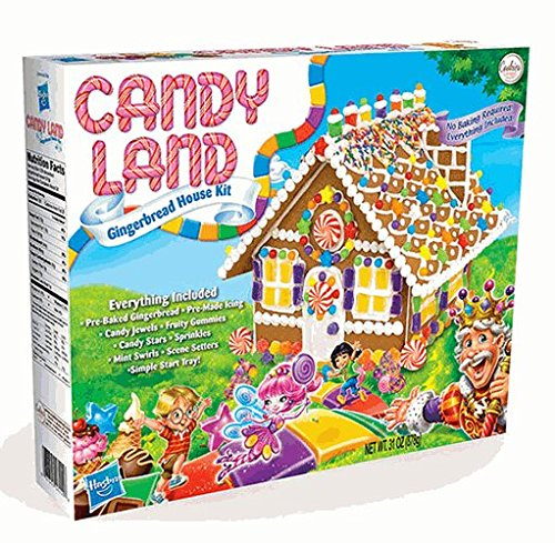 Candy Land Gingerbread House (Gingerbread Candy)