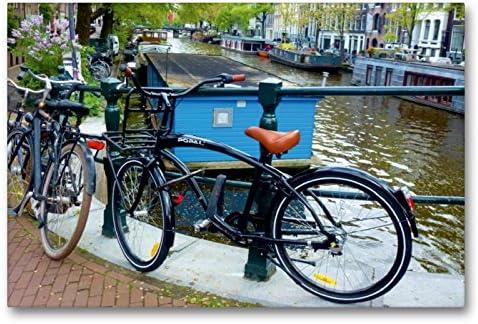 Bicicletas modernas – un diseño del calendario de Amsterdam ...