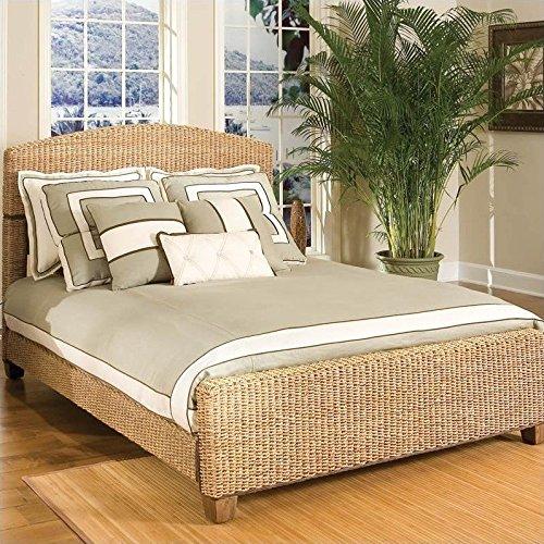 Home Styles 5401-400 Cabana Banana Queen Bed, Honey Finish (Furniture Wood Banana)