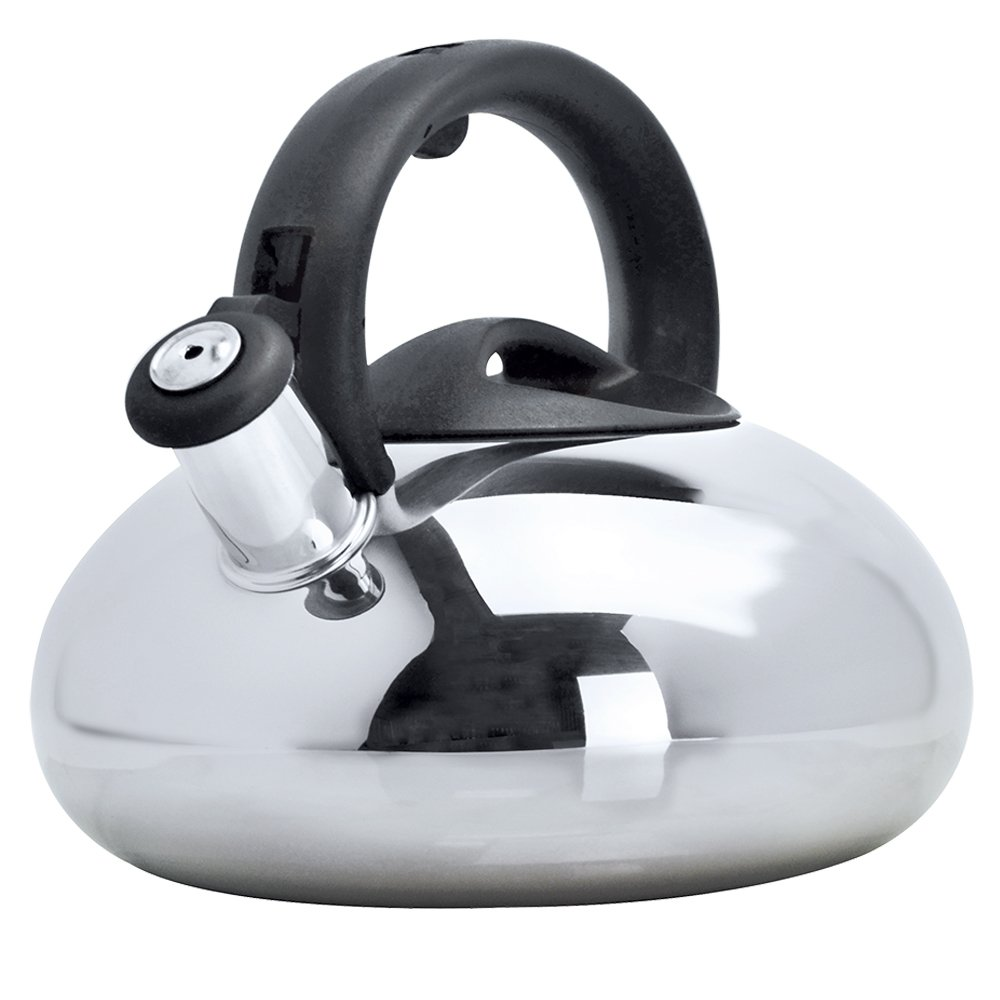 Primula Catalina Stainless Steel Whistling Tea Kettle, 3-Quart