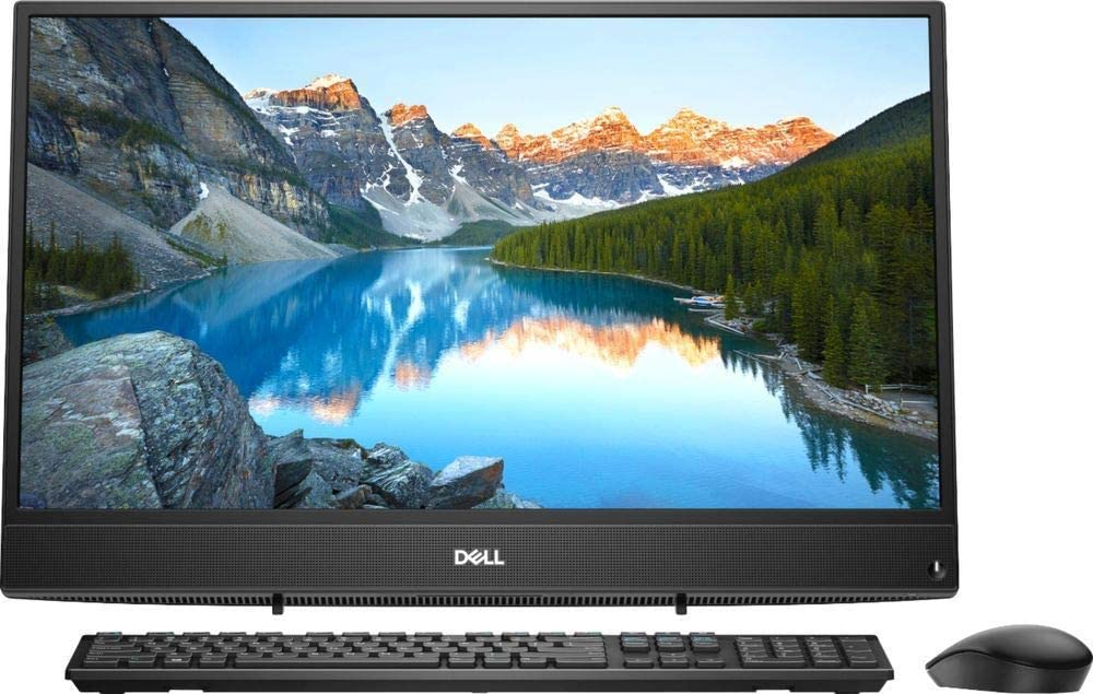 "2018 Dell Flagship 23.8"" FHD Widescreen Touchscreen All-in-One AIO Desktop Computer, AMD A9-9425 Up to 3.7GHz Processor, 8GB DDR4 Memory, 1TB HDD, WiFi 802.11ac, Bluetooth 4.1, USB 3.1, Windows 10"