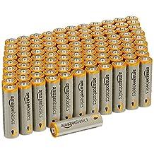 Amazon Basics Paquete de 100 baterías AA