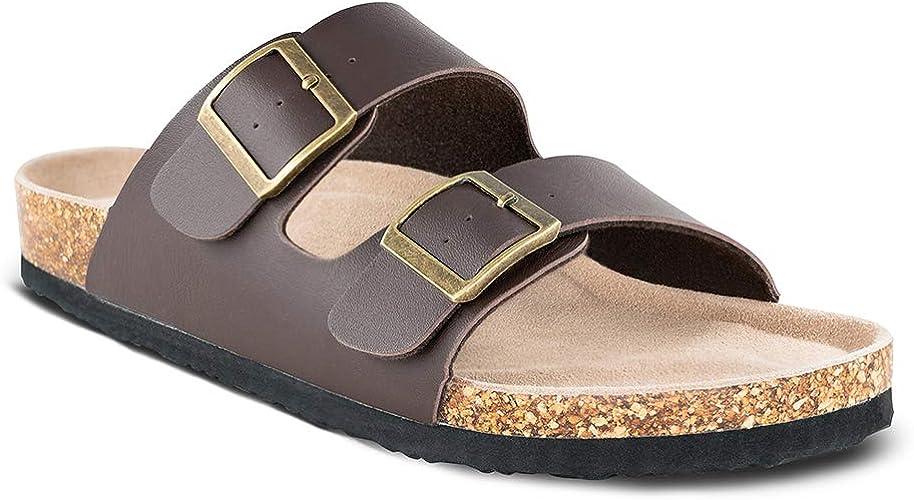 Slip On Flat Casual Cork Sandals
