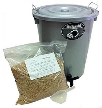 1 x 27 litros Bokashi Compost Bin, orgánico Tacho, Kit de compostaje),