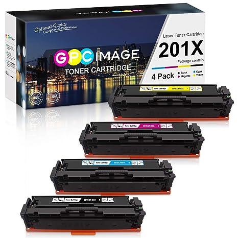 GPC Image 201X - Cartucho de tóner Compatible para HP Color ...