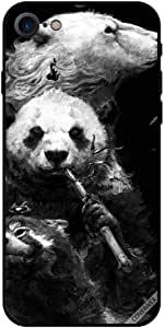 Case For iPhone 8 - Panda in Black