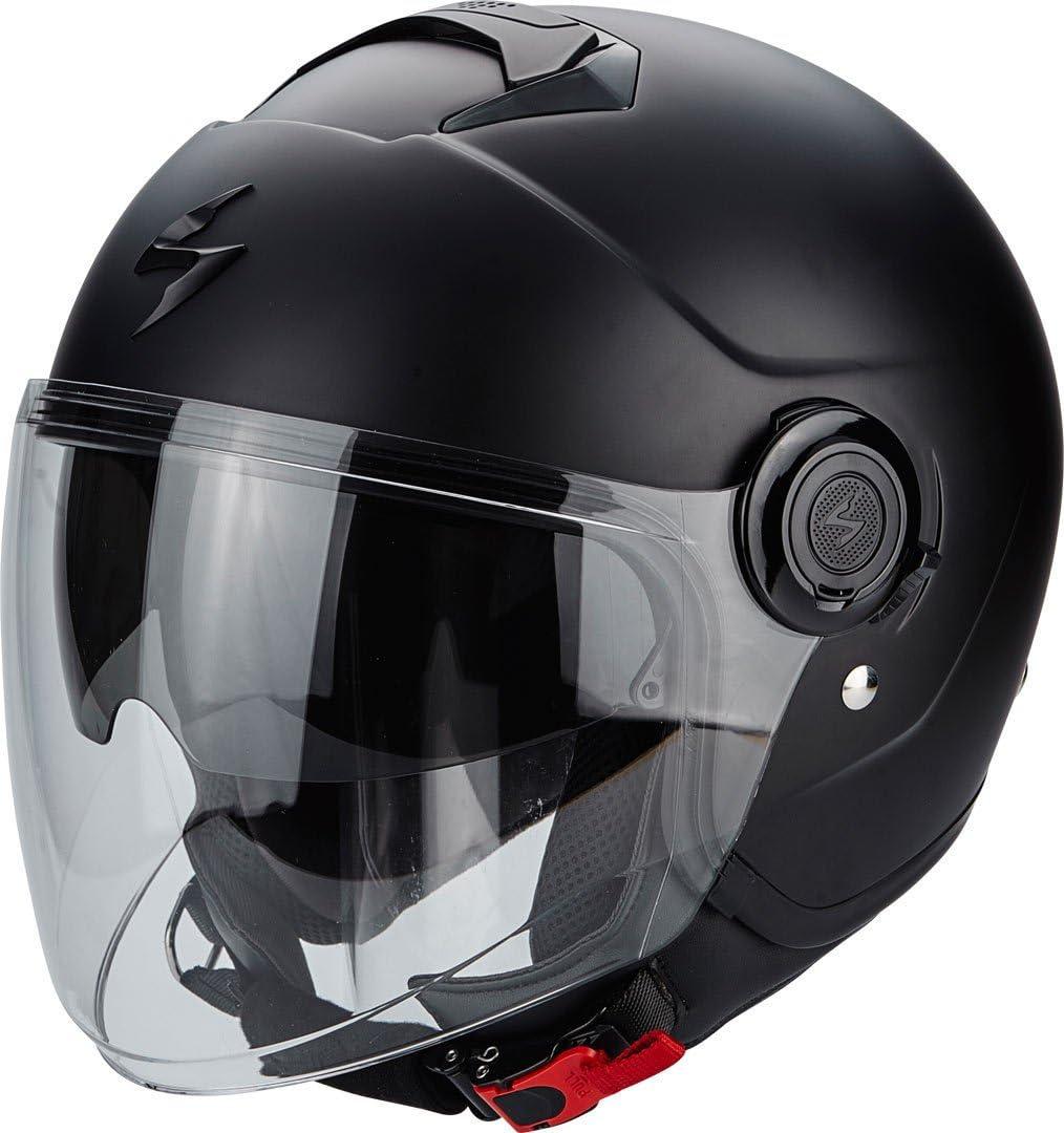 Scorpion Motorrad-Helm Exo-City Gr/ö/ße L mattschwarz