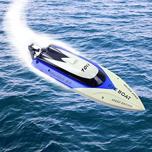 Remote Control Speed Boat - 2.4 G Control at High Speeds ...