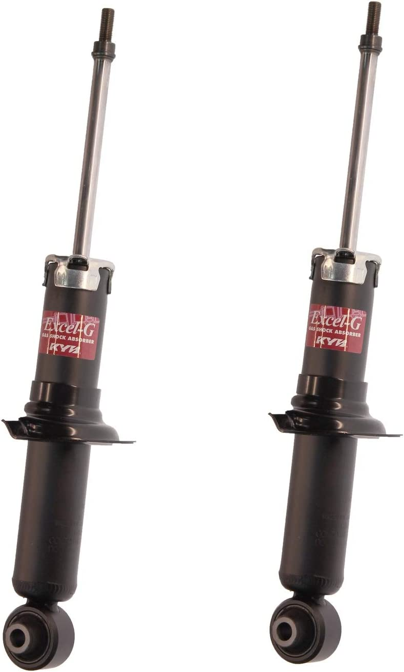 NEW Pair Set of 2 Rear KYB Excel-G Suspension Struts For Subaru Impreza 2012-2015