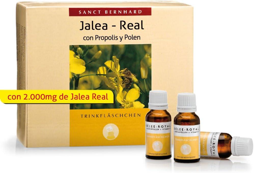 Jalea Real-Propolis-Polen líquida – 30 frascos para 1 Mes