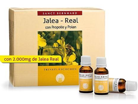 Jalea Real-Propolis-Polen líquida - 30 frascos para 1 mes: Amazon ...