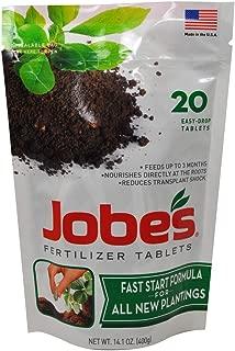 product image for Jobes 7820 Fast Start Fertilizer Tablet, 20, Natural