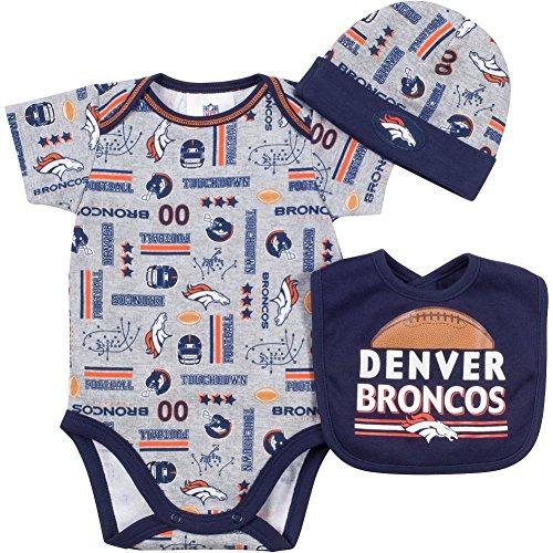 Gerber Denver Broncos Football Bodysuit
