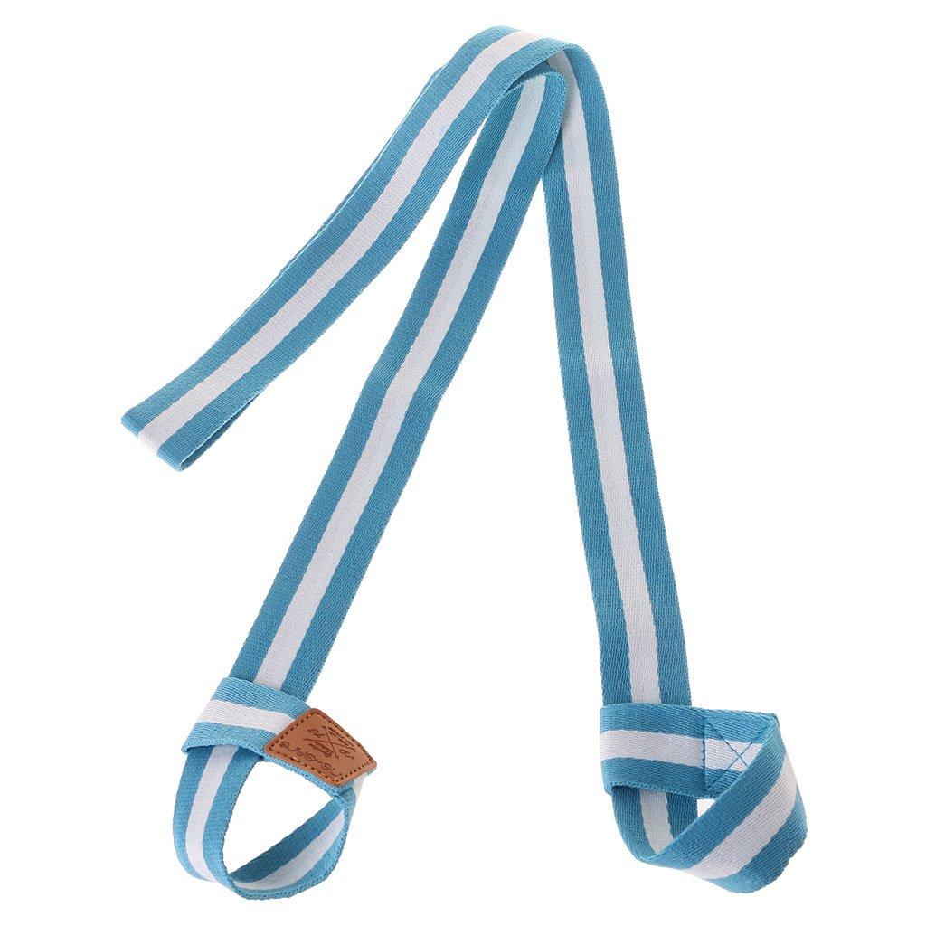 Cuigu Yogamatte Gurt, Verstellbar Tragegurt für Yogamatte, Yoga Zubehör in Zahlreichen Farben Erhäl Sport Gym Yoga Zubehör in zahlreichen Farben erhäl (Rot) (Blau)
