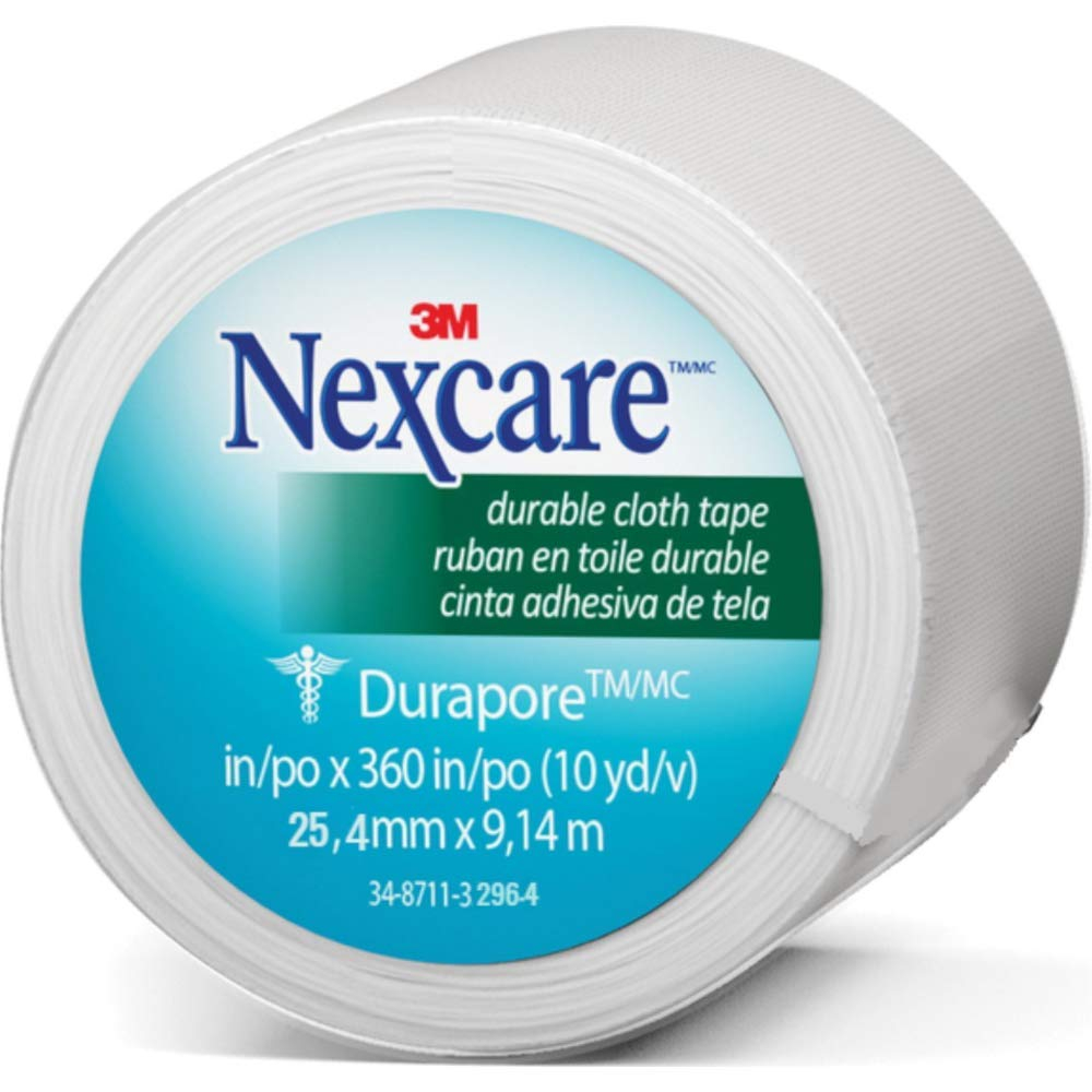 Nexcare Durapore Cloth First Aid Tape 1 Inches X 10 Yards Rolled, 0.08 Pound   B000GCPWKK