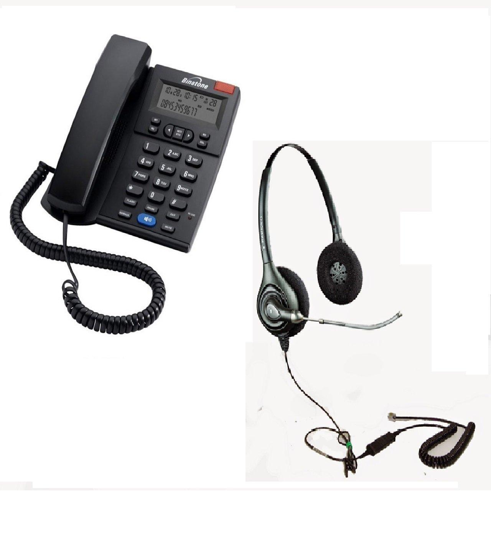 Binatone Concept 700 Landline Phone With Headset Rj9 Amazon In Electronics