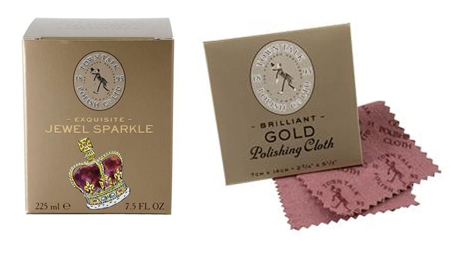Town Talk Gold Jewellery Bath & Polishing Cloth