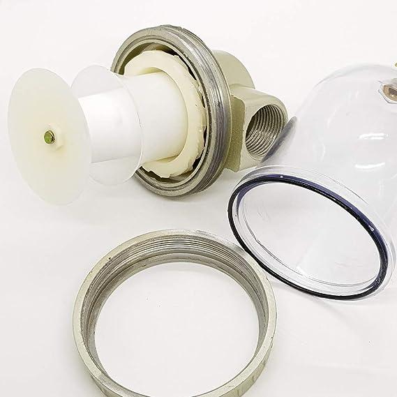 214212 Filtro Separador Industrial Grandes Volumenes Compresor Linea Aire Agua: Amazon.es: Bricolaje y herramientas