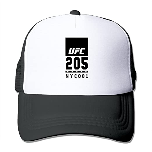 a01be44c054 UFC 205 New York City 001 Adjustable Mesh Trucker Hat at Amazon ...
