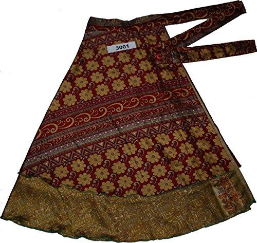 Jaipur Wraparound Two Layer Wrap Around Skirts (3001)