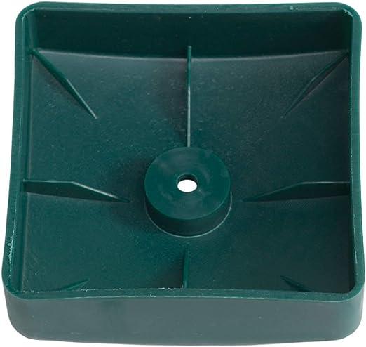 Gartenwelt Riegelsberger Premium PVC Pfostenkappe /Ø 120 mm ROT Abdeckung f/ür Rundholz /Ø 12 cm aus Kunststoff