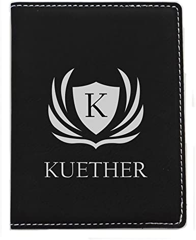 Personalized Passport Cover Holder Wallet by Forever Me Gifts