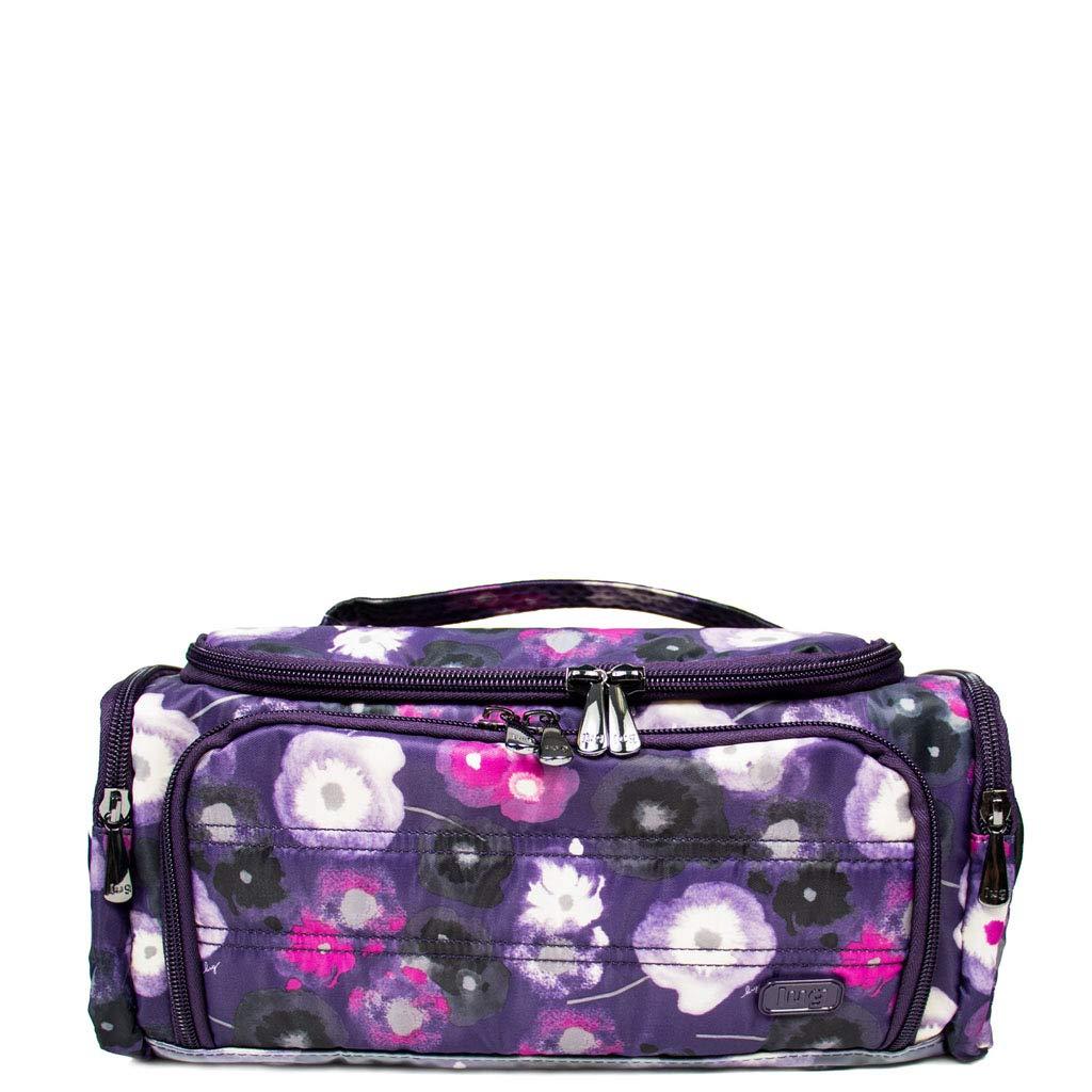 Lug Women's Trolley Cosmetic Case, Water Purple