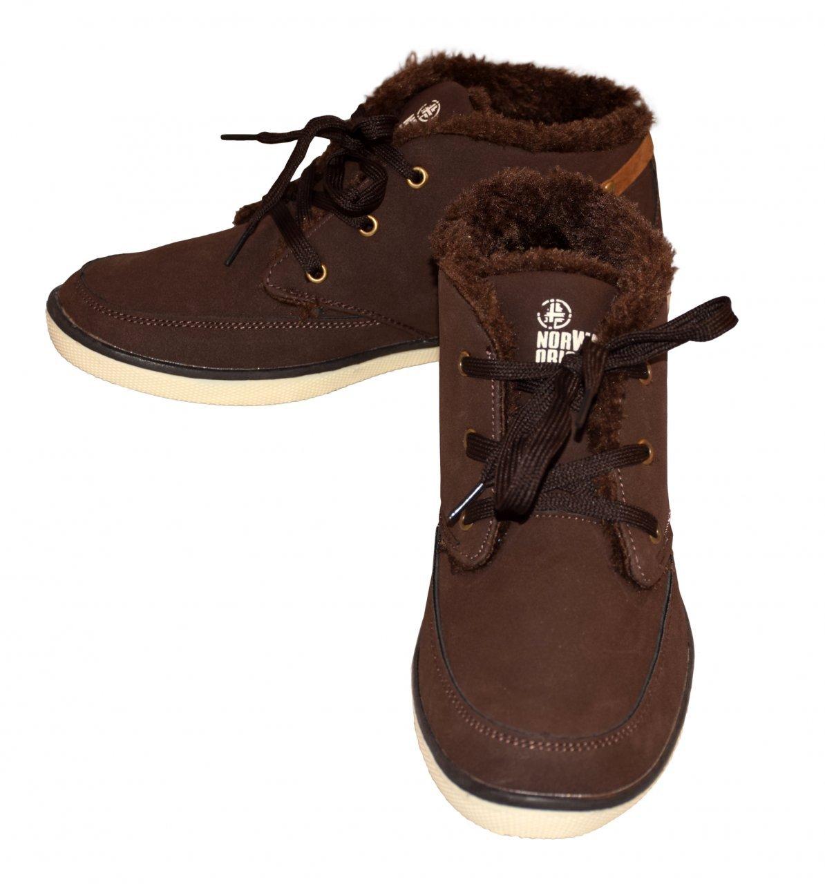 NORWAY Originals Damen Warmfutter-Schnürstiefel - Ladies Casual Sneakers