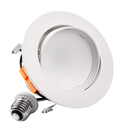 torchstar 4 inch led gimbal recessed retrofit downlight 10w 65w