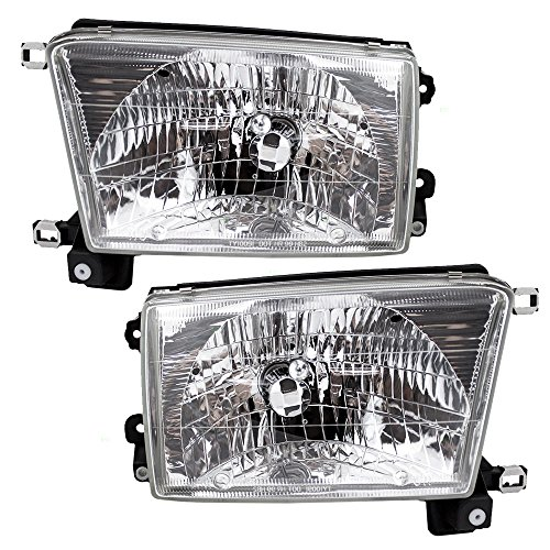 Driver and Passenger Headlights Headlamps Replacement for Toyota SUV 8115035300 8111035320 -