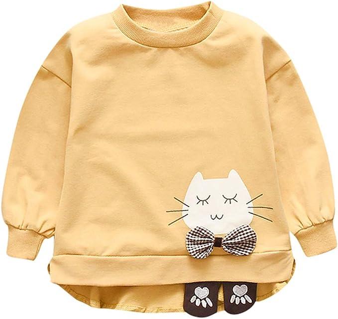 YWLINK Jersey Bebe NiñA Sudadera De Manga Larga Camiseta Casual De ...