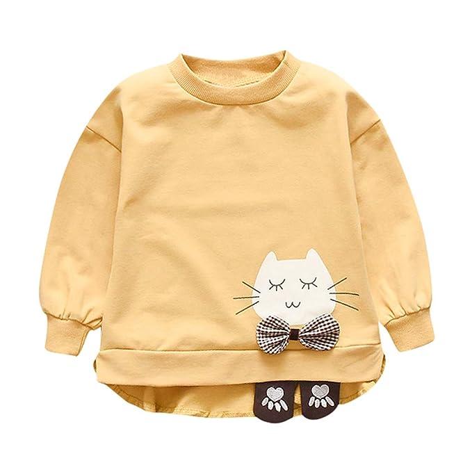 YWLINK Jersey Bebe NiñA Sudadera De Manga Larga Camiseta ...