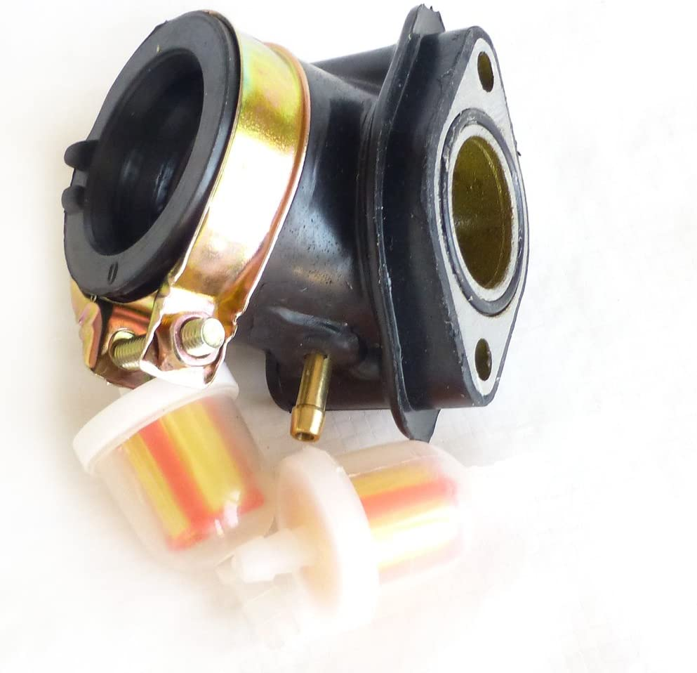 [DVZP_7254]   Amazon.com: GY6 Intake Manifold + Fuel Filter 2-pack for Chinese 150cc  Scooters: Automotive | Intake Fuel Filter |  | Amazon.com