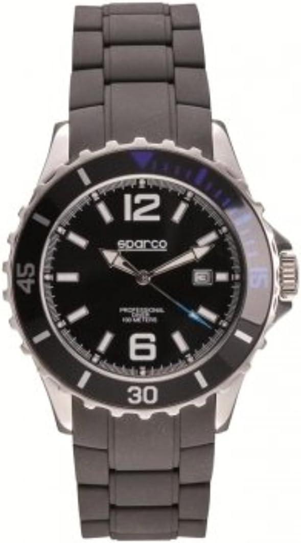 Sparco 099013nr Mann Uhr Schwarz Auto