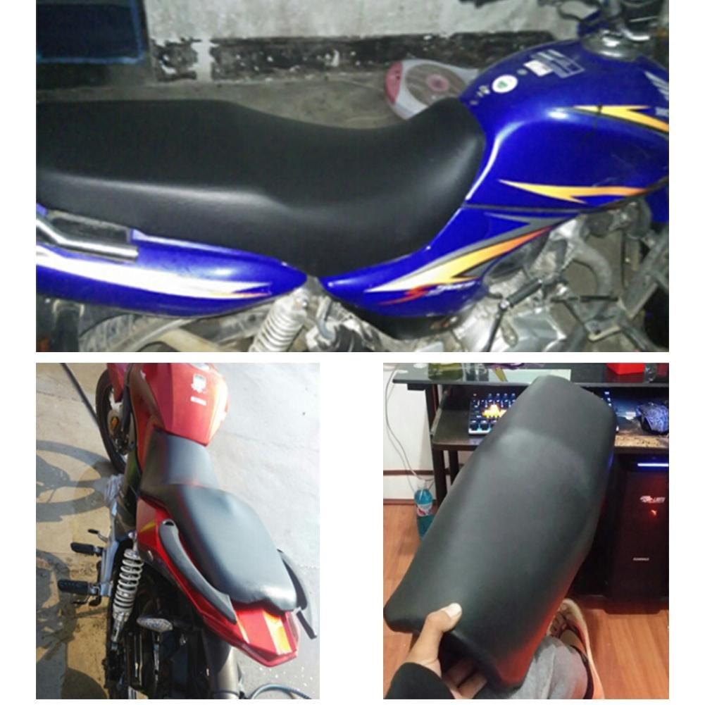 Noir Quiet.T Protecteur De Siege Moto Scooter Seat Cover Protector Faux Cuir 90cm X 70cm Imperm/éable Et Anti-oxyg/ène Faux Cuir Si/ège Couverture