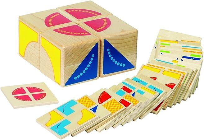 Goki- Juego de Puzzle, Kubus, Multicolor (Gollnest & Kiesel 58649.0)
