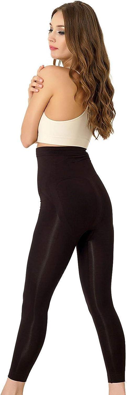 Damen Slim  Leggings Shapewear-Form Leggings Bauch Weg Leggings 40-46