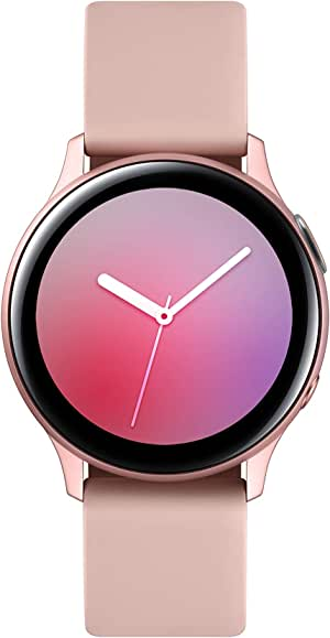 Samsung Galaxy Watch Active2 Aluminum with Bluetooth, 40mm, Pink Gold